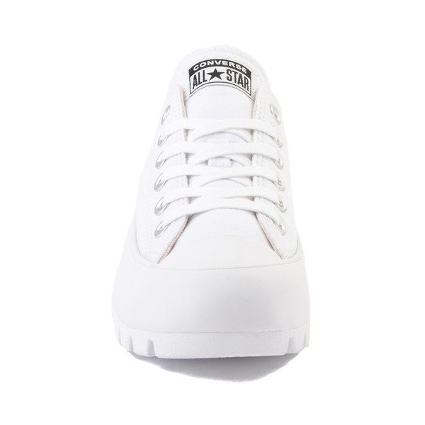 alternate image alternate view Womens Converse Chuck Taylor All Star Lo Lugged Sneaker - WhiteALT4