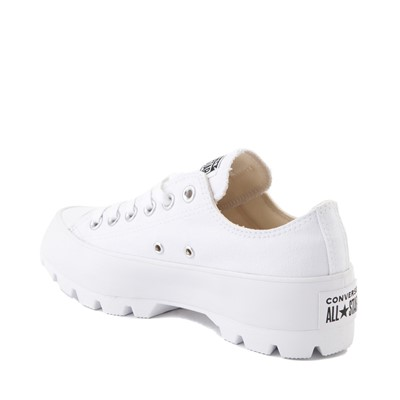Alternate view of Womens Converse Chuck Taylor All Star Lo Lugged Sneaker - White