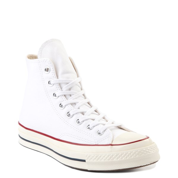 alternate image alternate view Converse Chuck 70 Hi Sneaker - White / GarnetALT1B