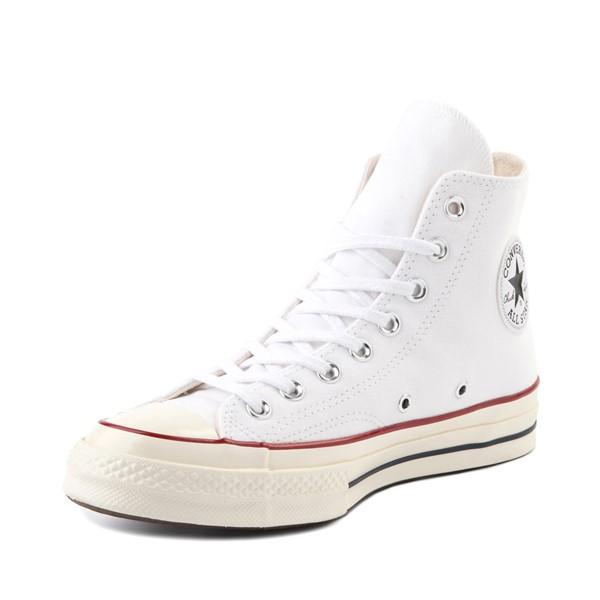 alternate image alternate view Converse Chuck 70 Hi Sneaker - White / GarnetALT2