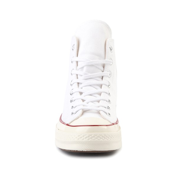 alternate image alternate view Converse Chuck 70 Hi Sneaker - White / GarnetALT4