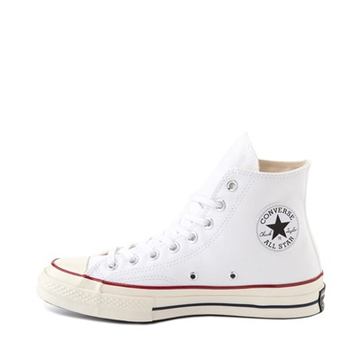 Alternate view of Converse Chuck 70 Hi Sneaker - White / Garnet