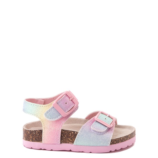 Laura Ashley Sparkle Sandal - Toddler - Pink / Rainbow