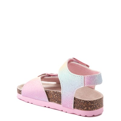 Alternate view of Laura Ashley Sparkle Sandal - Toddler - Pink / Rainbow