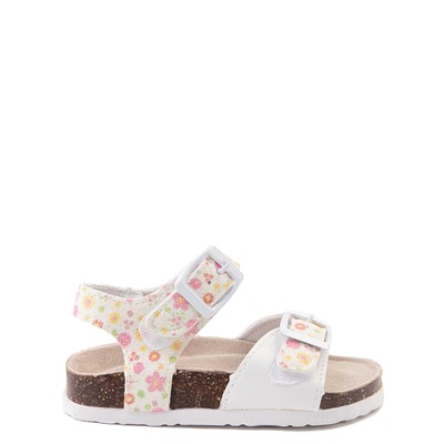 Main view of Laura Ashley Shine Sandal - Toddler - White / Floral