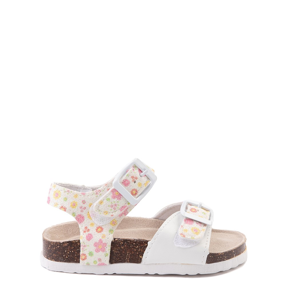 Laura Ashley Shine Sandal - Toddler - White / Floral