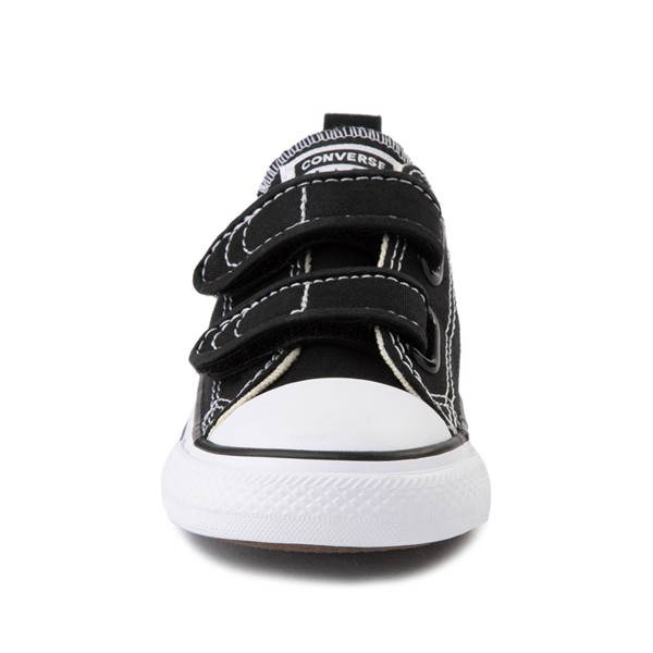 alternate image alternate view Converse Chuck Taylor All Star 2V Lo Sneaker - Baby / Toddler - BlackALT4