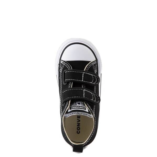 alternate image alternate view Converse Chuck Taylor All Star 2V Lo Sneaker - Baby / Toddler - BlackALT4B