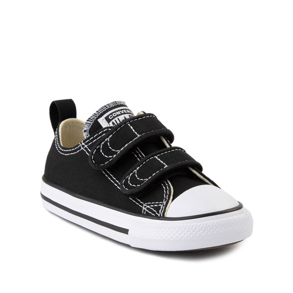 alternate image alternate view Converse Chuck Taylor All Star 2V Lo Sneaker - Baby / Toddler - BlackALT5