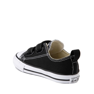 Alternate view of Converse Chuck Taylor All Star 2V Lo Sneaker - Baby / Toddler - Black
