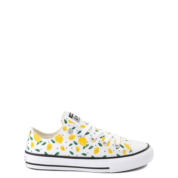 Main view of Converse Chuck Taylor All Star Lo Sneaker - Little Kid - White / Lemons