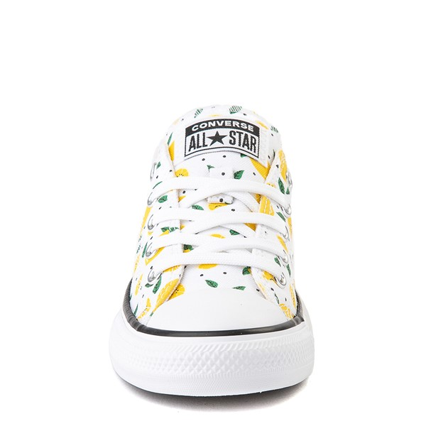 alternate image alternate view Converse Chuck Taylor All Star Lo Sneaker - Little Kid - White / LemonsALT4