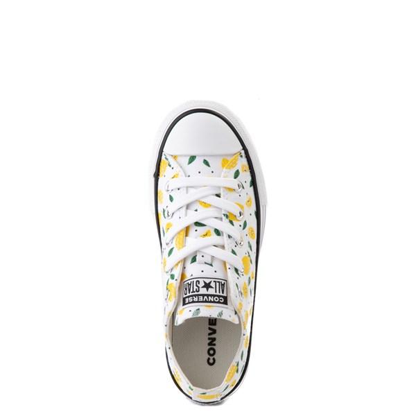 alternate image alternate view Converse Chuck Taylor All Star Lo Sneaker - Little Kid - White / LemonsALT4B