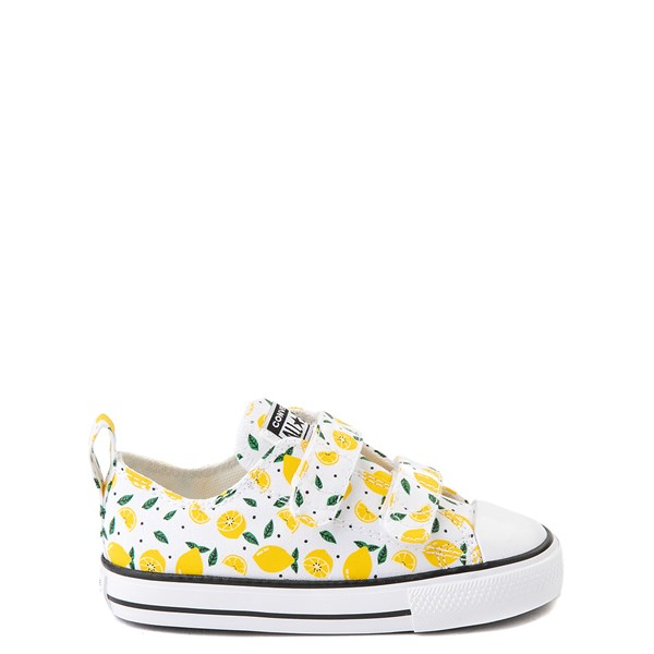 Converse Chuck Taylor All Star 2V Lo Sneaker - Baby / Toddler - White / Lemon