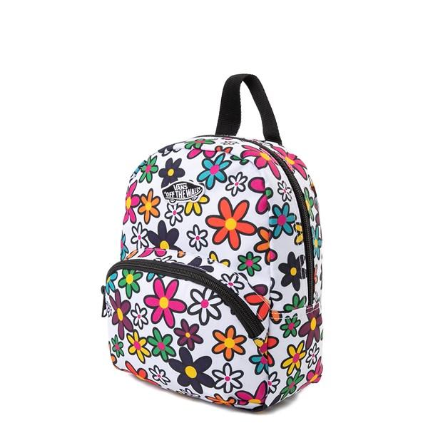 alternate image alternate view Vans Got This Mini Backpack - White / FloralALT2