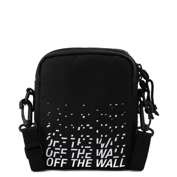 alternate image alternate view Vans Bail Distort Shoulder Bag - BlackALT1