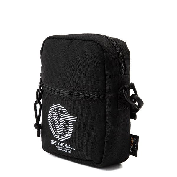 alternate image alternate view Vans Bail Distort Shoulder Bag - BlackALT2