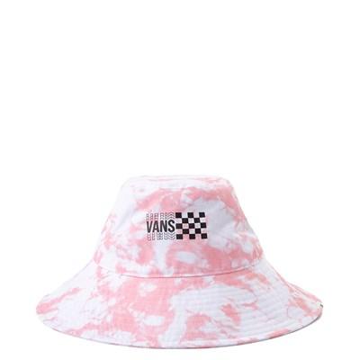 Main view of Vans Sun Dazed Floppy Bucket Hat - Pink Icing