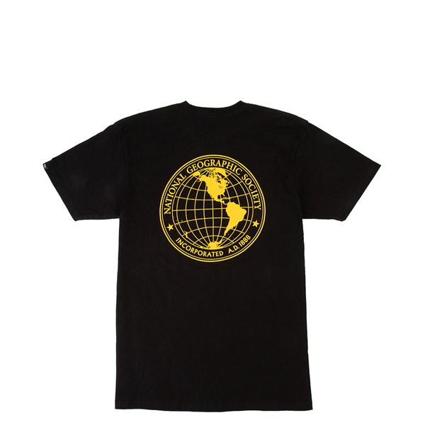 Mens Vans x National Geographic Globe Tee - Black
