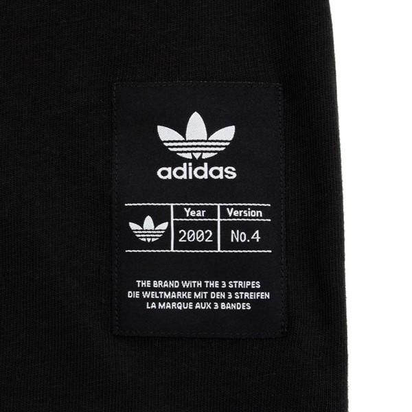alternate image alternate view Mens adidas Trefoil History 2.0 Long Sleeve Tee - BlackALT2