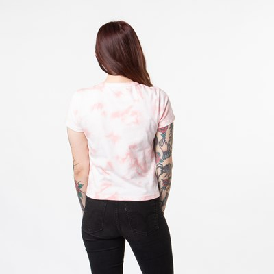 Alternate view of Womens Vans Wazmin Baby Doll Tee - Pink Icing