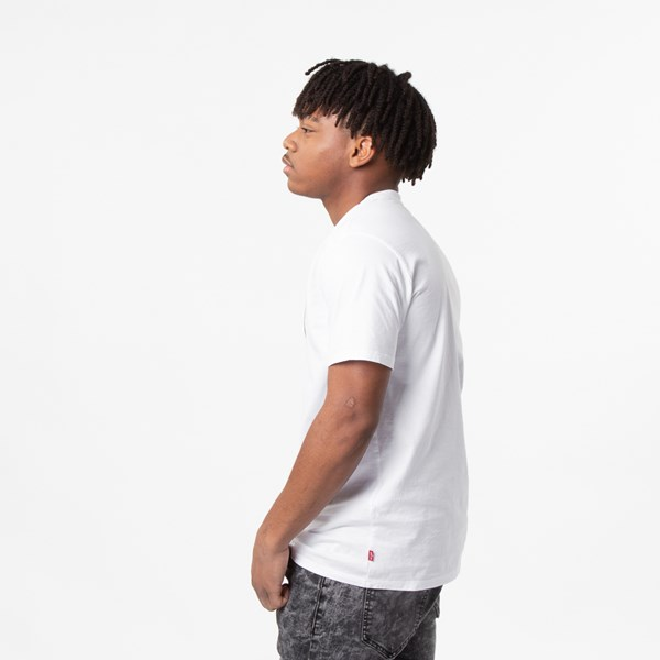 alternate image alternate view Mens Levi's Logo Tee - White / CamoALT2