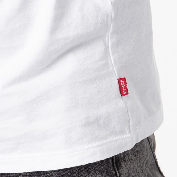 alternate image alternate view Mens Levi's Logo Tee - White / CamoALT4