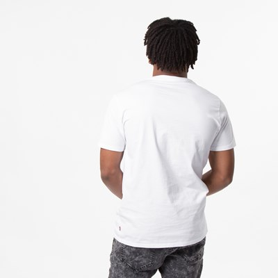 Alternate view of Mens Levi's Logo Tee - White / Camo