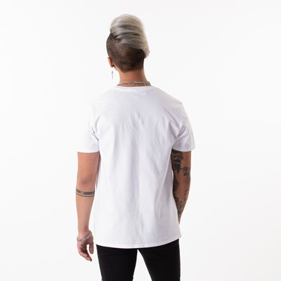 Alternate view of Mens Levi's Logo Tee - White / Red