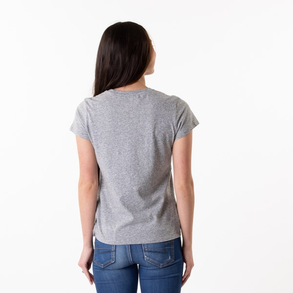 alternate image alternate view Womens Levi's Logo Tee - Heather GreyALT1