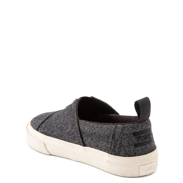 alternate image alternate view TOMS Aliso Slip On Casual Shoe - Baby / Toddler / Little Kid - BlackALT1