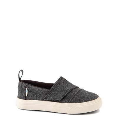 Main view of TOMS Aliso Slip On Casual Shoe - Baby / Toddler / Little Kid - Black