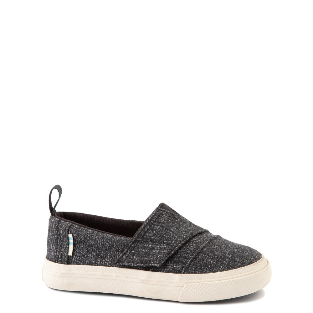 TOMS Aliso Slip On Casual Shoe - Baby / Toddler / Little Kid - Black