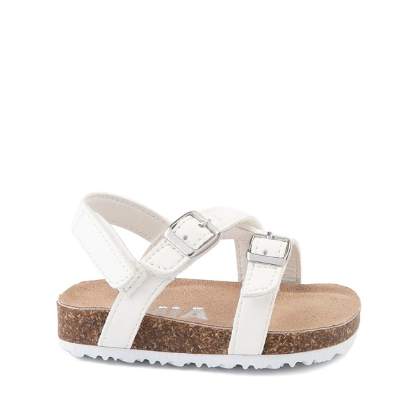Main view of MIA Violet Sandal - Baby / Toddler - White