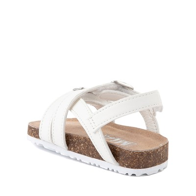Alternate view of MIA Violet Sandal - Baby / Toddler - White