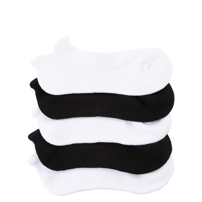 Main view of Womens Double Tab No Show Socks 5 Pack