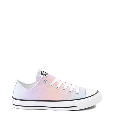 Main view of Womens Converse Chuck Taylor All Star Lo Sneaker - Rainbow Fade
