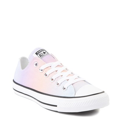 Alternate view of Womens Converse Chuck Taylor All Star Lo Sneaker - Rainbow Fade