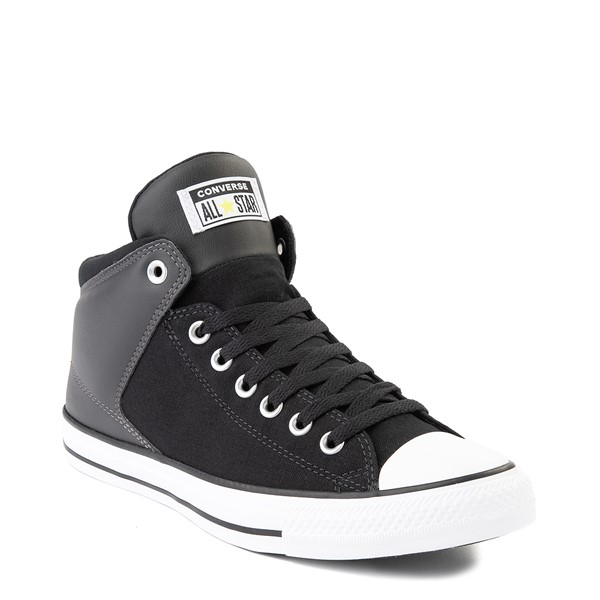 alternate image alternate view Converse Chuck Taylor All Star High Street Sneaker - Black / ZincALT5