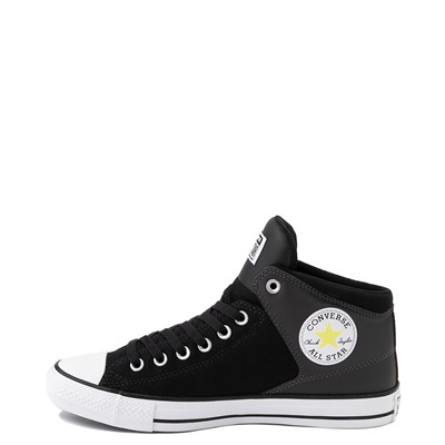 Alternate view of Converse Chuck Taylor All Star High Street Sneaker - Black / Zinc