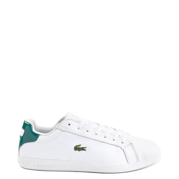 Main view of Mens Lacoste Graduate Athletic Shoe - White / Green