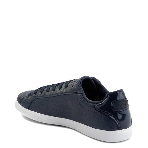 alternate image alternate view Mens Lacoste Graduate Athletic Shoe - NavyALT2