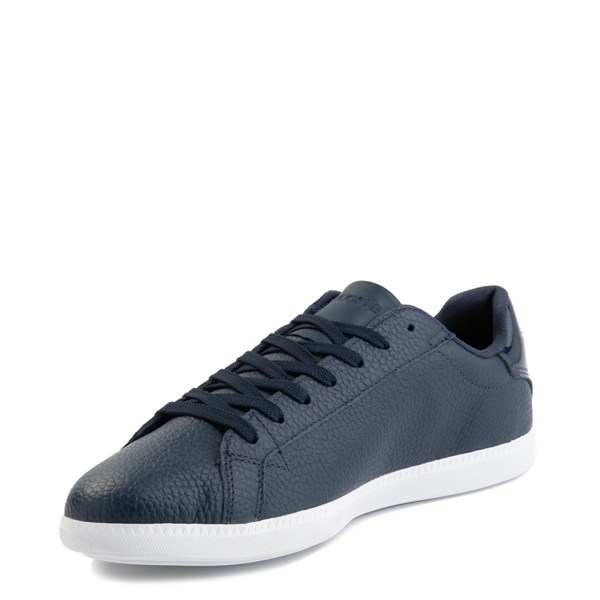 alternate image alternate view Mens Lacoste Graduate Athletic Shoe - NavyALT3