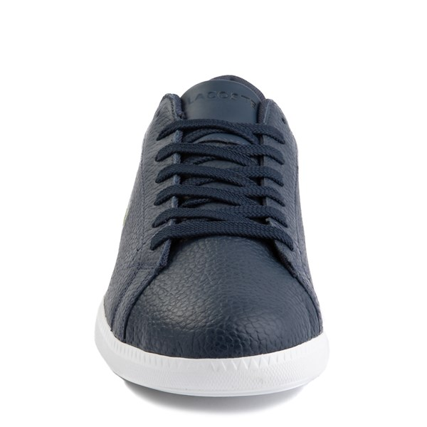 alternate image alternate view Mens Lacoste Graduate Athletic Shoe - NavyALT4
