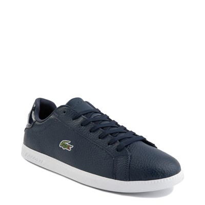 Alternate view of Mens Lacoste Graduate Athletic Shoe - Navy