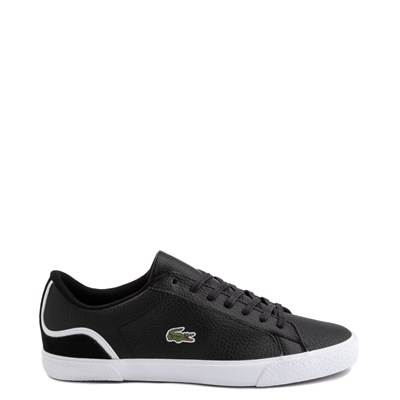 Main view of Mens Lacoste Lerond Athletic Shoe - Black / White