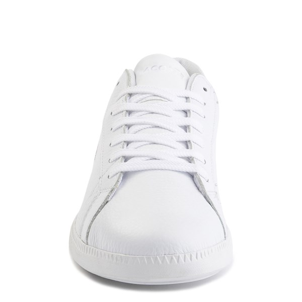 alternate image alternate view Womens Lacoste Graduate Athletic Shoe - White/NaturalALT4