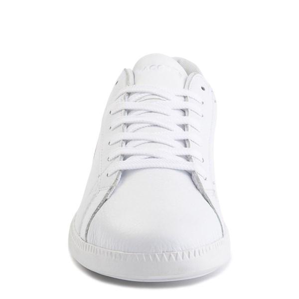 alternate image alternate view Womens Lacoste Graduate Athletic Shoe - White / NaturalALT4
