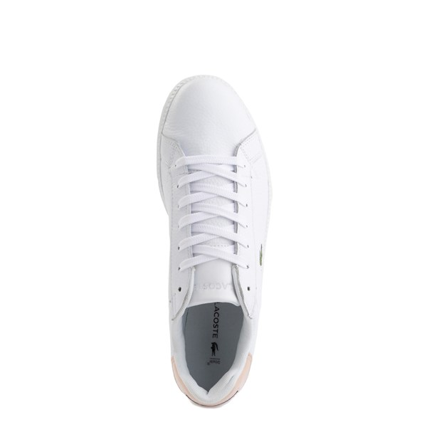 alternate image alternate view Womens Lacoste Graduate Athletic Shoe - White/NaturalALT4B