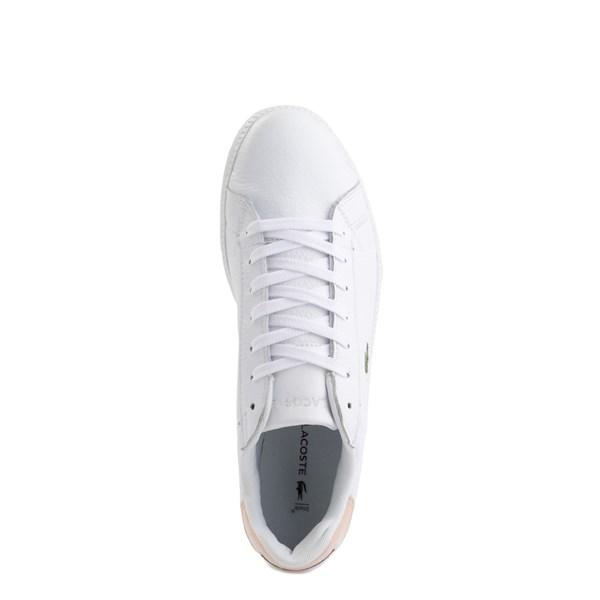 alternate image alternate view Womens Lacoste Graduate Athletic Shoe - White / NaturalALT4B